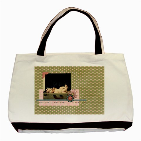 Miss Priss  Tote Bag By Sheena   Basic Tote Bag   Htvpkhk8wkfi   Www Artscow Com Front