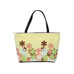 Spring Blossoms Classic Shoulder Handbag By Lisa Minor   Classic Shoulder Handbag   Mnkgom6jq2ii   Www Artscow Com Back