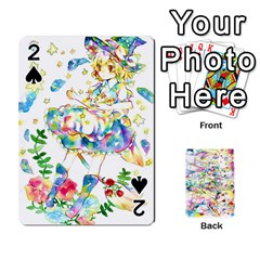 Touhou Watercolor Deck By Herpan Derpan   Playing Cards 54 Designs   Awp89gt03fyd   Www Artscow Com Front - Spade2