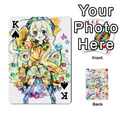 King Touhou Watercolor Deck By Herpan Derpan   Playing Cards 54 Designs   Awp89gt03fyd   Www Artscow Com Front - SpadeK