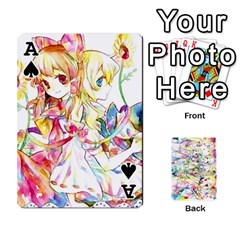 Ace Touhou Watercolor Deck By Herpan Derpan   Playing Cards 54 Designs   Awp89gt03fyd   Www Artscow Com Front - SpadeA