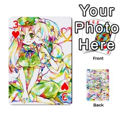 Touhou Watercolor Deck By Herpan Derpan   Playing Cards 54 Designs   Awp89gt03fyd   Www Artscow Com Front - Heart3