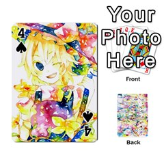 Touhou Watercolor Deck By Herpan Derpan   Playing Cards 54 Designs   Awp89gt03fyd   Www Artscow Com Front - Spade4