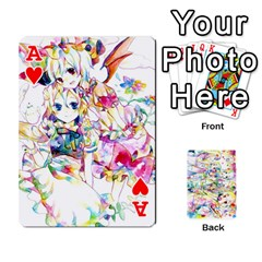 Ace Touhou Watercolor Deck By Herpan Derpan   Playing Cards 54 Designs   Awp89gt03fyd   Www Artscow Com Front - HeartA