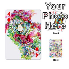 Touhou Watercolor Deck By Herpan Derpan   Playing Cards 54 Designs   Awp89gt03fyd   Www Artscow Com Front - Diamond4
