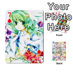 Touhou Watercolor Deck By Herpan Derpan   Playing Cards 54 Designs   Awp89gt03fyd   Www Artscow Com Front - Diamond7