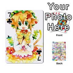 Touhou Watercolor Deck By Herpan Derpan   Playing Cards 54 Designs   Awp89gt03fyd   Www Artscow Com Front - Club7