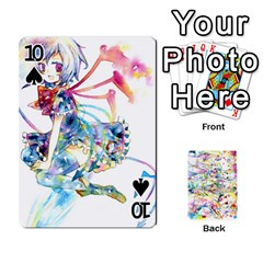 Touhou Watercolor Deck By Herpan Derpan   Playing Cards 54 Designs   Awp89gt03fyd   Www Artscow Com Front - Spade10