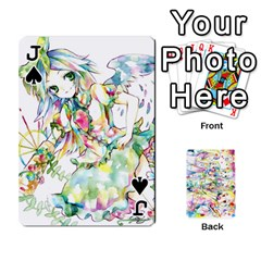 Jack Touhou Watercolor Deck By Herpan Derpan   Playing Cards 54 Designs   Awp89gt03fyd   Www Artscow Com Front - SpadeJ
