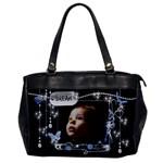 Oversize Handbag 15  Blue Boy - Oversize Office Handbag