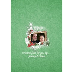 Christmas Card 5x7 By Laurrie   Greeting Card 5  X 7    Caf9xsnz4zzf   Www Artscow Com Back Cover