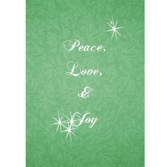 Christmas Card 5x7 By Laurrie   Greeting Card 5  X 7    Caf9xsnz4zzf   Www Artscow Com Front Inside