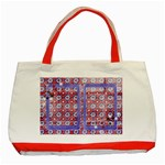 Red, White & Blue-Classic Tote Bag-red2 - Classic Tote Bag (Red)