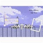 Boy Blessing Baby Shower Invitation - 5  x 7  Photo Cards