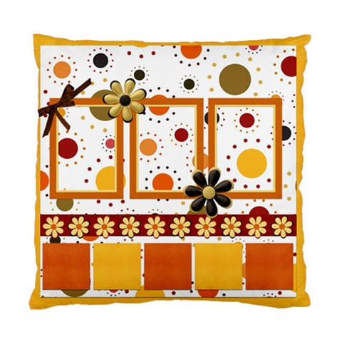 Tangerine Breeze 1 Sided Pillow By Lisa Minor   Standard Cushion Case (one Side)   Kc9mxx5ula3f   Www Artscow Com Front