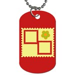 Flower - Dog Tag (One Side)
