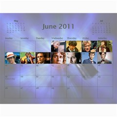 Zak Calendatr Final By K Kaze   Wall Calendar 11  X 8 5  (12 Months)   Vtv6q4yggg46   Www Artscow Com Jun 2011