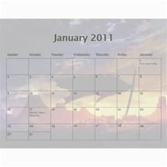 Zak Calendatr Final By K Kaze   Wall Calendar 11  X 8 5  (12 Months)   Vtv6q4yggg46   Www Artscow Com Jan 2011
