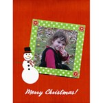 Snowman Christmas Card  - Greeting Card 4.5  x 6
