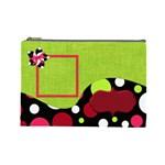 Cherry Slush Large Cosmetic Bag - Cosmetic Bag (Large)