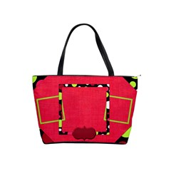 Cherry Slush Classic Shoulder Handbag 1 By Lisa Minor   Classic Shoulder Handbag   Erqy4jzrkcfp   Www Artscow Com Front