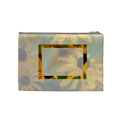 Flower Bag By Patricia W   Cosmetic Bag (medium)   3rnmdhcc4rse   Www Artscow Com Back