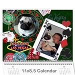 olliecal1 - Wall Calendar 11  x 8.5  (12-Months)