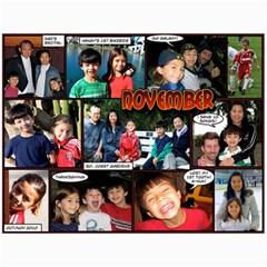 2011 Calendar By Dan   Wall Calendar 11  X 8 5  (12 Months)   Cm2oj3e8kfob   Www Artscow Com Month