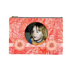 Mandarin Large Cosmetic Case By Joan T   Cosmetic Bag (large)   Hflz5wn28ljc   Www Artscow Com Front
