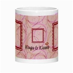 Hugs & Kisses By Daniela   Night Luminous Mug   3du60rnx45sj   Www Artscow Com Center
