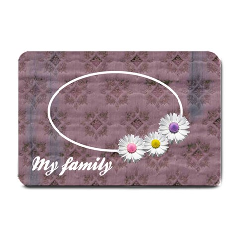 My Family   24 x16  Door Mat By Carmensita   Small Doormat   Pdzc4mxf82gv   Www Artscow Com 24 x16 Door Mat - 1