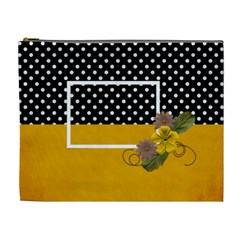 Xl  Yellow And Black By Jennyl   Cosmetic Bag (xl)   X2v7j1hynnyf   Www Artscow Com Front