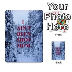 Iabsm Axis Bulge By T Van Der Burgt   Multi Purpose Cards (rectangle)   Crzv1v98j227   Www Artscow Com Front 6