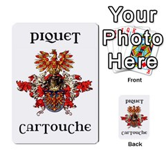 Cartouche Deck 4 By Gary Van Zandt   Playing Cards 54 Designs   Vklptrii628r   Www Artscow Com Back