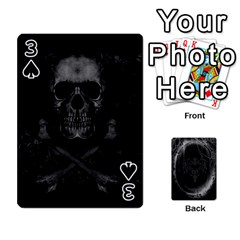 Goth Playin Cards By Brad   Playing Cards 54 Designs   Pyj0k00r8pif   Www Artscow Com Front - Spade3