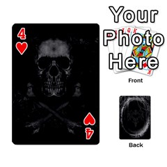 Goth Playin Cards By Brad   Playing Cards 54 Designs   Pyj0k00r8pif   Www Artscow Com Front - Heart4