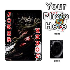 Goth Playin Cards By Brad   Playing Cards 54 Designs   Pyj0k00r8pif   Www Artscow Com Front - Joker2