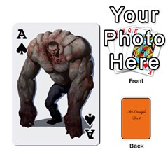 Ace Gaming Deck By Gregor Skeldon   Playing Cards 54 Designs   Ulnsbuq4e6go   Www Artscow Com Front - SpadeA