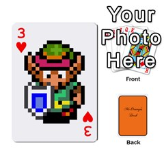 Gaming Deck By Gregor Skeldon   Playing Cards 54 Designs   Ulnsbuq4e6go   Www Artscow Com Front - Heart3