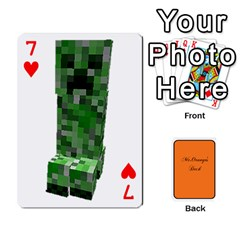 Gaming Deck By Gregor Skeldon   Playing Cards 54 Designs   Ulnsbuq4e6go   Www Artscow Com Front - Heart7