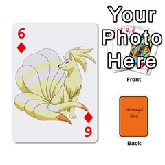 Gaming Deck By Gregor Skeldon   Playing Cards 54 Designs   Ulnsbuq4e6go   Www Artscow Com Front - Diamond6