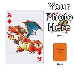Ace Gaming Deck By Gregor Skeldon   Playing Cards 54 Designs   Ulnsbuq4e6go   Www Artscow Com Front - DiamondA