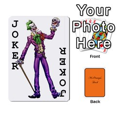 Gaming Deck By Gregor Skeldon   Playing Cards 54 Designs   Ulnsbuq4e6go   Www Artscow Com Front - Joker1
