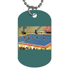 Cheer By Anita Marsh   Dog Tag (two Sides)   Rc9klqzm4sor   Www Artscow Com Front