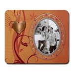 Pretty Copper Large Mousepad