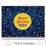 Calendar -Disney Adv. - Wall Calendar 11  x 8.5  (12-Months)