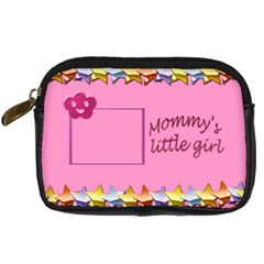 Mommy s Little Girl By Daniela   Digital Camera Leather Case   Qly00nif7a20   Www Artscow Com Front