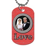 ValentineDogTag - Dog Tag (Two Sides)