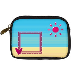 Sunny Day By Daniela   Digital Camera Leather Case   Or59ymwof4dj   Www Artscow Com Front