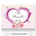Calendar 2011 - Wall Calendar 11  x 8.5  (12-Months)